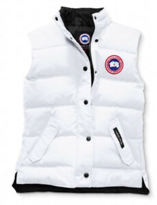Canada Goose Freestyle Vest / White / Brand New Style 2832