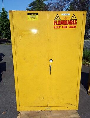 Justrite Flammable Storage Cabinet Inv.36105