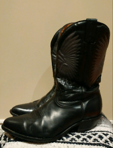 Mens Size 10 Boulet Indian Head CowboyWestern Boot