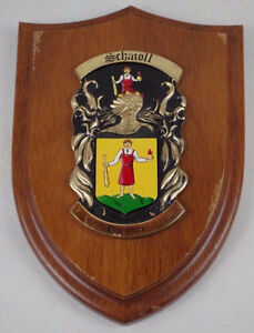 Wooden Crest/Shield Wall Plaques Kingston Kingston Area image 1