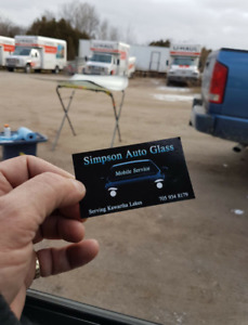 Windshield Replacement & Stone Chip repair