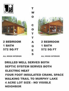 TWO SMALL HOMES FOR ONE SMALL BUDGET