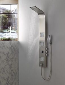 Shower panels, shower sets, shower systems|shower columns|