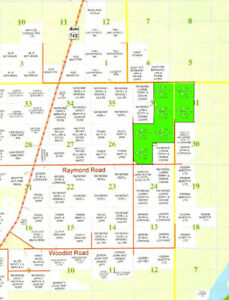 1088 acre ranch or farm land. Potentially organic.