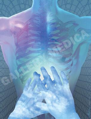 Healing Poster Massage Chiropractic Bodywork Physical