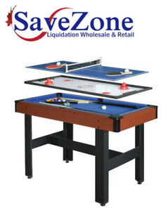 NEW- Hathaway TRIAD 48-inch 3-in-1 Multi-Game Table