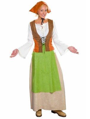Kostüm Bäuerin Magd Marketenderin Mittelalter historisches Gewand Damen -