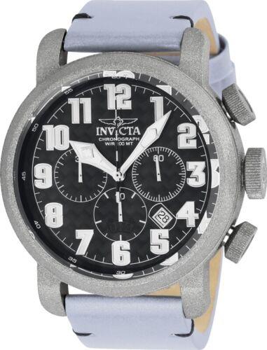 Invicta 23092 Aviator Men's 52mm Chronograph Steel Sandblast