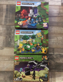 3x minecraft lego (sarah's new account pls message on this not others)