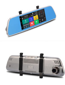 """Mirror Dash Camera 7"""" Touch screen Android 5.0 and navigation"""