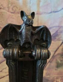 A Kenerick & Sons Letter Box & Knocker Bat design No422 Victorian Orig