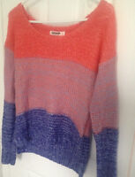 Ombre Multi Hued Sweater from Garage Clothing XS