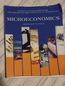 Microeconomics Book 4th edition by Crhistopher T.S Ragan new