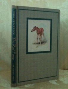 Vintage Steinbeck - The Red Pony - 1945 Illustrated edition - Ha