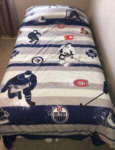NHL Twin Bedding Set