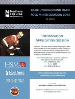 Hard Rock Miner Common Core Timmins - N. College