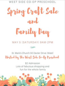 WSCP Spring Sale & Family Event!