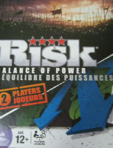 Risk Balance of Power Board Game Parker Brothers