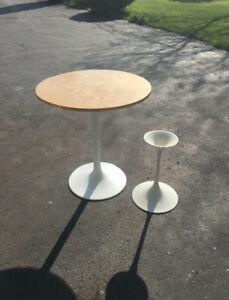 Tulip Tables and Sturdy Chairs
