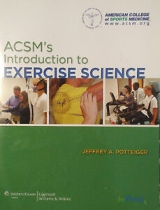 ACSM's Introduction to Exercise Science. by Jeffrey A Potteiger
