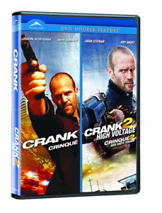 Crank & Crank 2 High Voltage on 1 dvd-Excellent + Hangover dvd