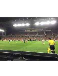FRONT ROW CENTRE FIELD TORONTO FC MLS CUP FINALS