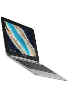 New! Asus C101PA-DB02 10.1-Inch Touch Chromebook Flip