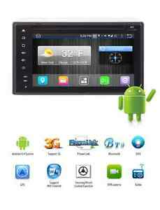 UNIVERSAL ANDROID  INDASH DOUBLE DIN NAVIGATION GPS CAMERA