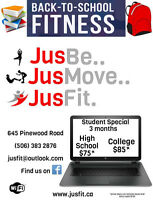 Back to School Fitness with JusFit Fitness Centre