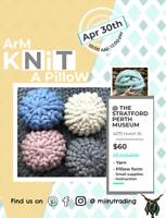 Stratford - Arm Knit A Pillow