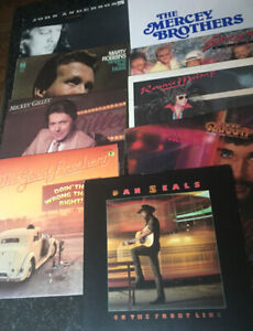 9 Great Country Albums - One Low Price ! ( Bin # 7 ) Look!