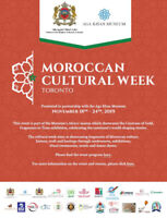 Vendor Wanted for Moroccan Cultural Week