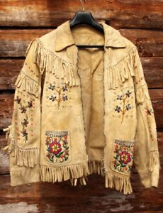 Vintage Moose Hide Jacket