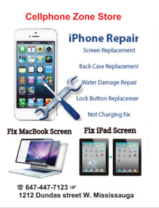 iPhone 4 / 4s Screen + Battery Replacement Only $35