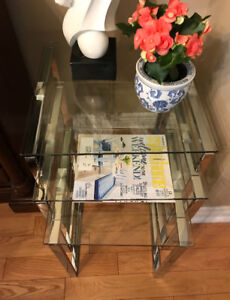Nesting / End tables  ( set of 3)