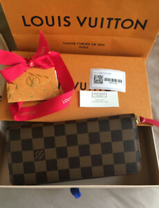 (SOLD)Authentic Brand New LOUIS VUITTON Clemence wallet