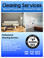 RENTAL PROPERTIES MOVE IN/ OUT CLEANING SERVICE