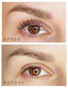 $ 45 Lash lift and tint*** SPECIAL OFFER ONLY FOR APRIL***