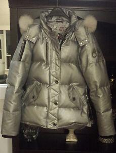 Moose Knuckle 3q silver women jacket