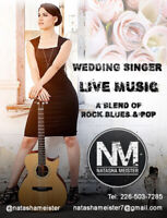 Singer/Guitarist for Weddings, Corporates & Private Parties