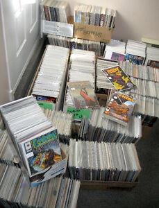 Plus de 2500 comics en anglais à 1$ chacun