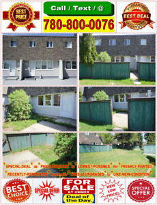⛪★3-Bed Condo TownHouse Sale★⛪★Just Renovated–Painted–Upgraded★⛪