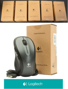 5 NEW LOGITECH M31E CORDED LASER BUSINESS MOUSE FOR COMPUTER PC