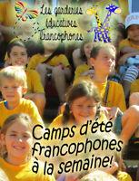 Camps d'été en français / French immersion summer camps