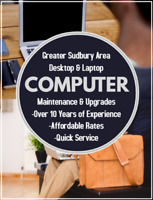 ⁑⁑⁑ Greater Sudbury - Computer Repair and Upgrade Services ⁑⁑⁑