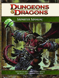 Dungeons & Dragons 4th edition Monster Manual & DM Guide