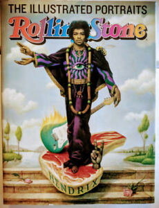 Rolling Stone The Illustrated Portraits Book by  Fred Woodward