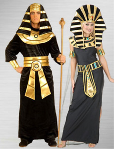 Pharaoh and Egyptian Queen couples costume