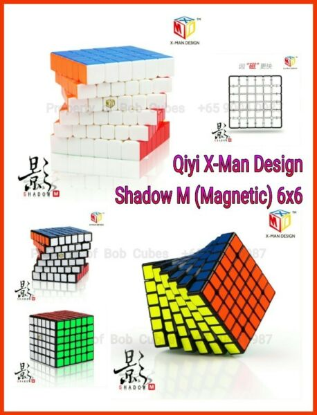 - Qiyi X-Man Design Shadow M (Magnetic) 6x6 for sale in Singapore