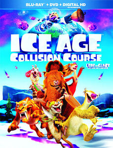 ICE AGE 5 Collision Course DVD - New